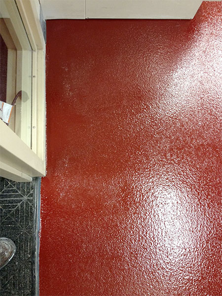 Red Epoxy Floor Coating